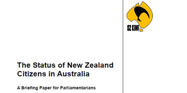 Oz Kiwi Briefing Paper