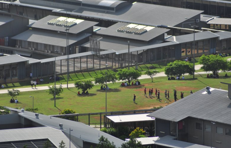 The Christmas Island detention centre