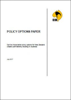 Oz Kiwi Policy Options Paper