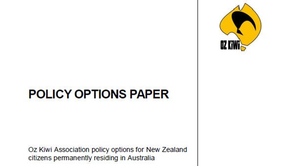 Oz Kiwi Policy Options