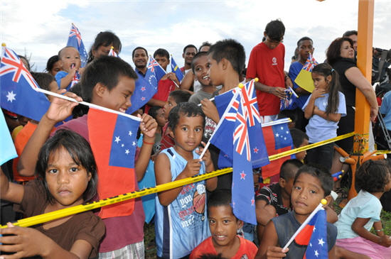 Pacific Island education in Oz