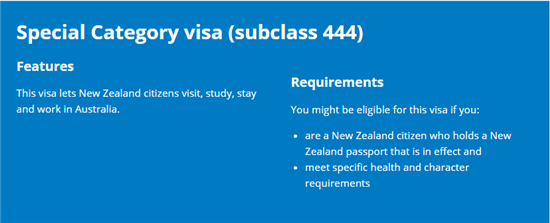 The special category visa protected vs non protected whats the the status of new zealanders in australia is complicated due to incremental law changes that many kiwis are still not aware of ccuart Images