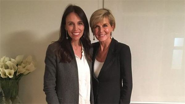 Ardern and Bishop first meeting Feb 2018
