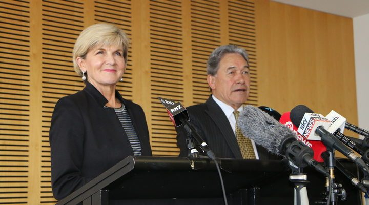 Peters: Trans-Tasman talks were 'fruitful'