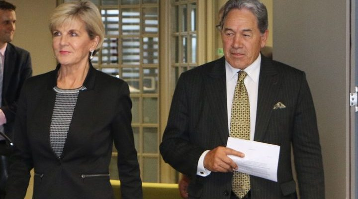 New Zealand and Australian Foreign Ministers met in Auckland