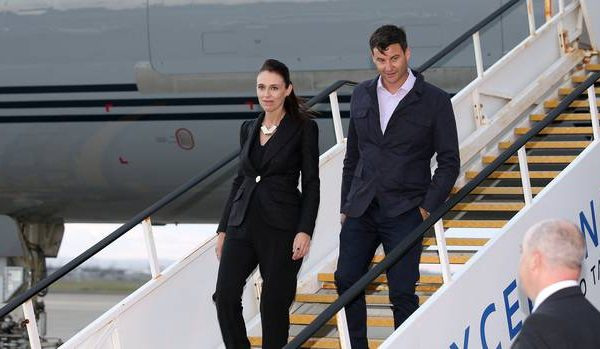 Ardern arrives in Australia for talks with Turnbull March 2018