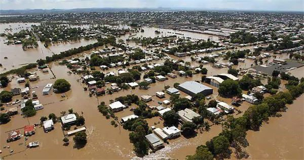 Kiwi Queensland flood relief
