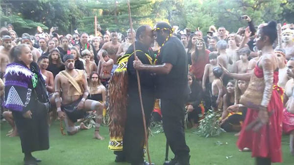 ANZAC Day Haka Corroboree