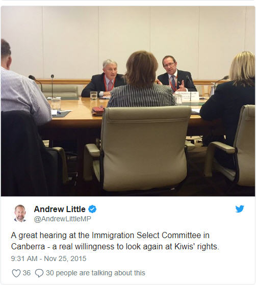 Goff Little Canberra meetings