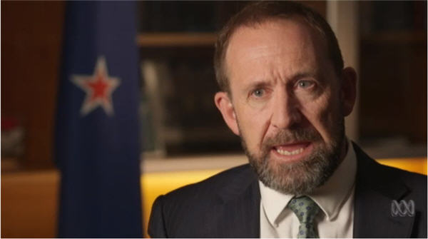 New Zealand denounces deportations