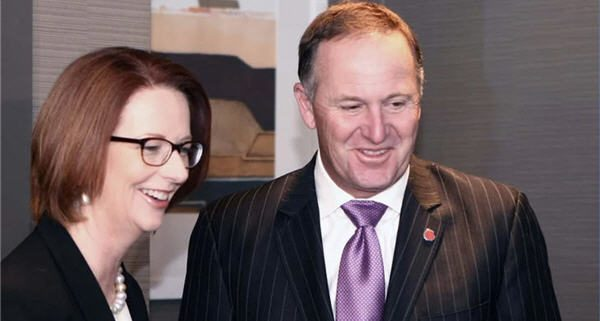 Gillard and Key meeting in Queensland