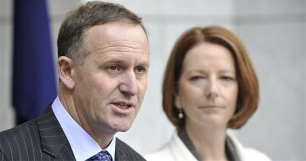 Key and Gillard meet in Queenstown