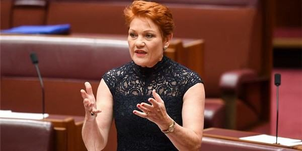 Hanson Citizenship Bill rejected