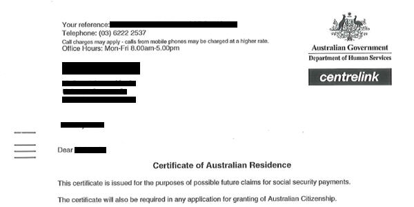 Letter Proof Of Residence from www.ozkiwi2001.org